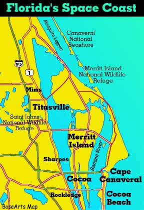 Kennedy Space Center And The Space Coast