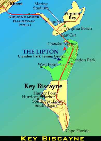 Map Of Key Biscayne Absolutely Florida Websource Florida Your