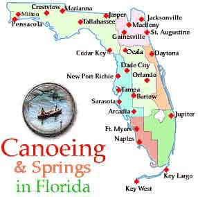 Florida Canoeing: Canoe Rentals, Rivers and Springs   ABSOLUTELY